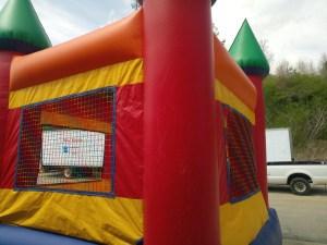 3Royal Castle Bounce House combo