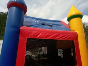 9Candyland bounce house moonwalk