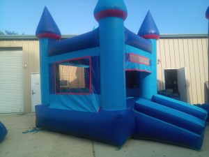 4Blue Sky moonwalk bounce house combo
