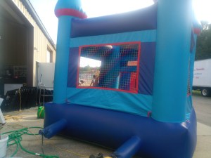 2Blue Sky moonwalk bounce house combo
