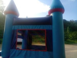 15Blue Sky bounce house combo moonwalk