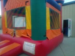1Silly Willy bounce house moonwalk