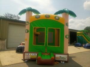 4Tropical Island bounce house combo