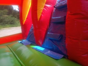 2Over the Rainbow bounce house combo