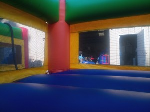 5Fun Indoor Out Orange Bounce House moonwalk