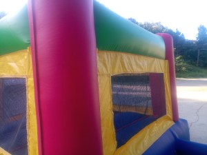 8Fun Indoor Out Red Bounce House moonwalk