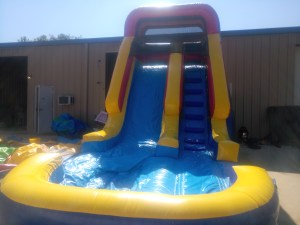 5Deep Blue wet dry slide