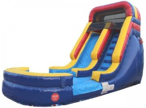 17Deep Blue Wet Dry Slide Front
