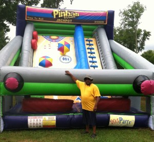 10Pinball Action Dry slide