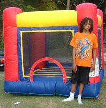1Baby Red Jumper Bounce House moonwalk