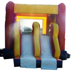 6Super Double Jumpy Jump bounce house combo