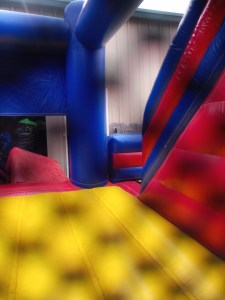 Super hero bounce house combo 3