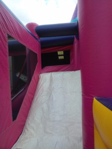 Mega Princess bounce house combo slide