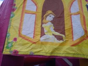 Mega Princess bounce house combo princess