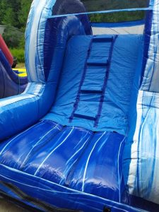 Blue Lagoon Wet Dry slide back