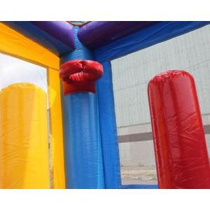 Crayon bounce house basketball