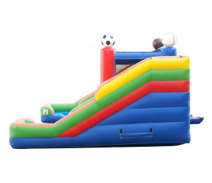 Game Day Action Play double slide Wet Dry combo side view