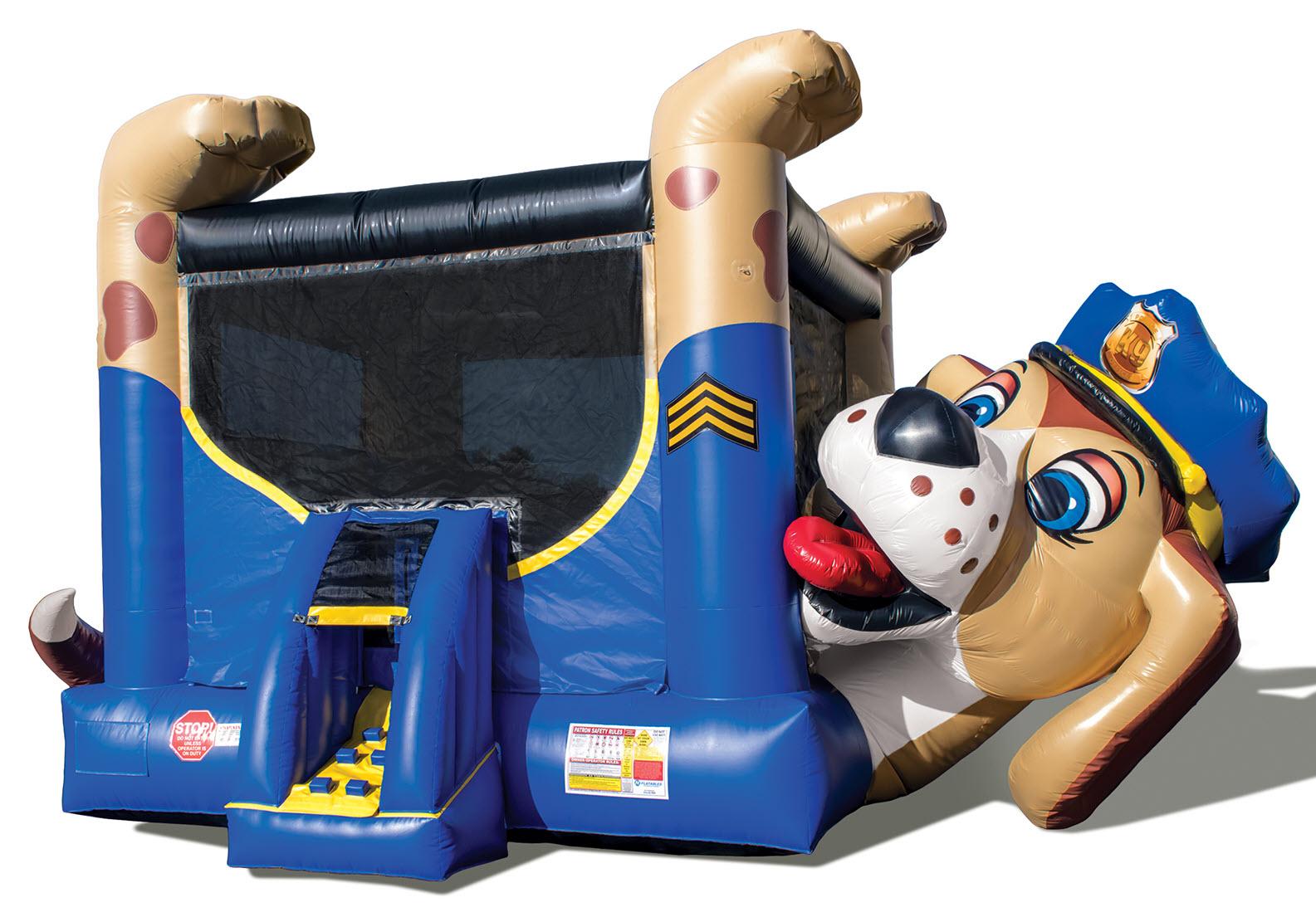 Police Dog Bounce House