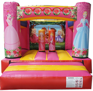 Princess Theater bounce house front