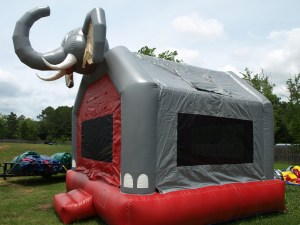 Big Al Bounce house angle