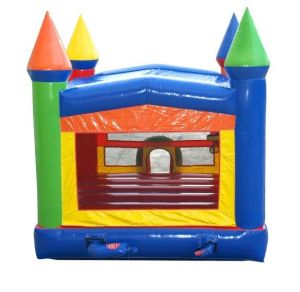 happy jump bounce house back