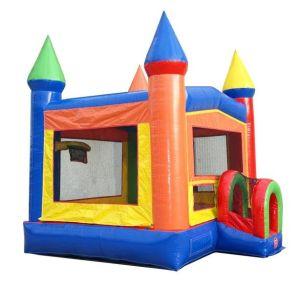happy jump bounce house angle 2