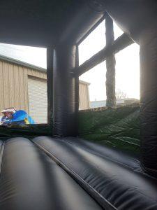 military hummer window
