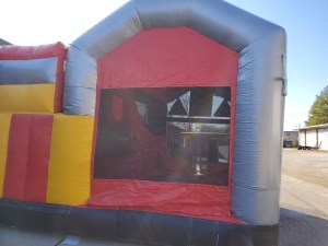 Mad Science Lab bounce house side