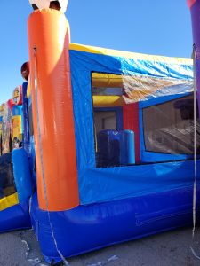 Sports Arena Bounce House side