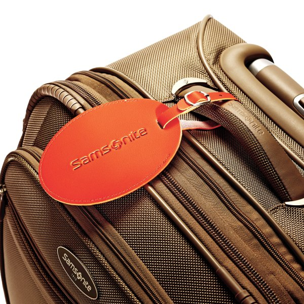 Samsonite Large Vinyl Id Tag - Luggage