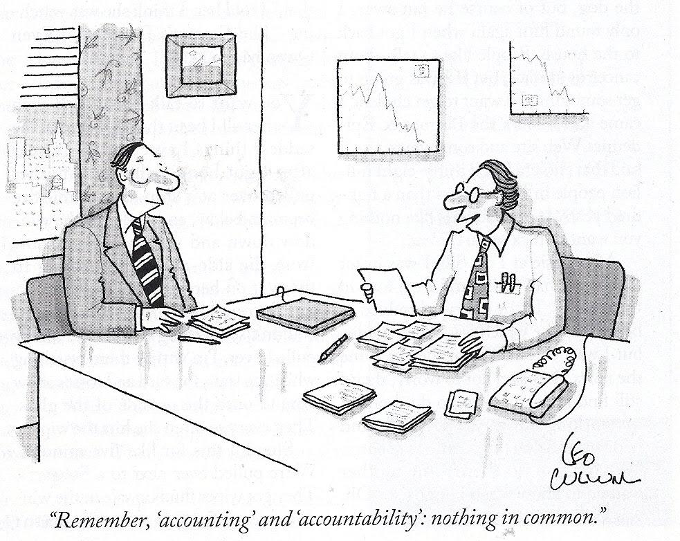 Funny Accounting Cartoons