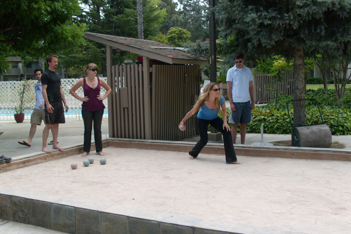 Bocce Ball - Los Gatos Lodge - Los Gatos, CA