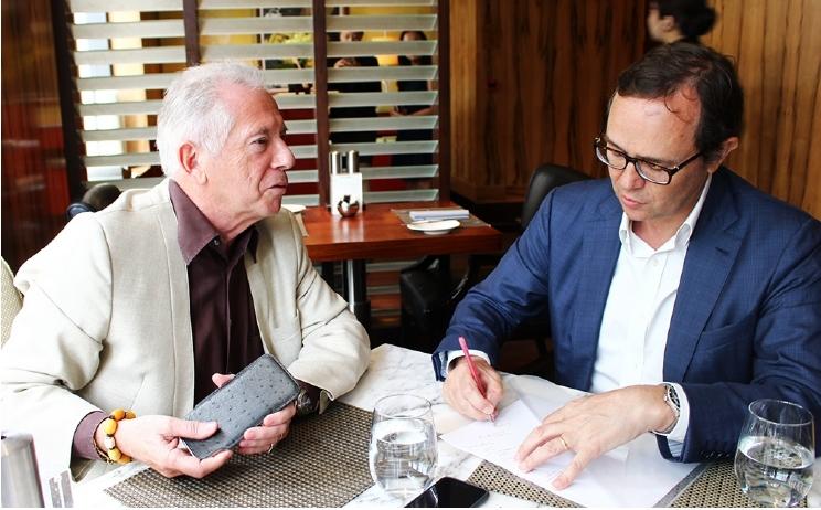 Francis Gouten, Nick Bradstreet, luxury retail