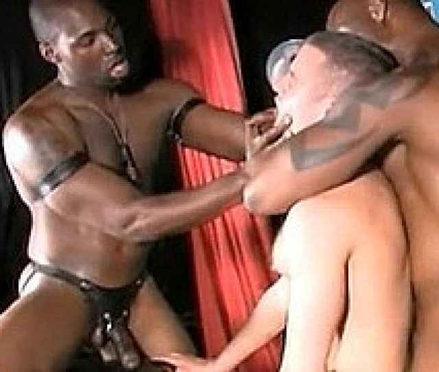 Sexy Black Men Have Sex On Stage In Front Of A Live Audience