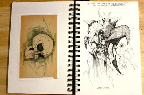 Skulls and, ah skulls and skulls