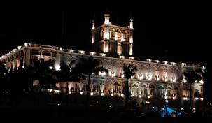 Palacio de Gobierno. Roberto Espínola