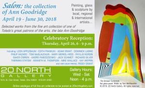 """Salon: the Collection of Ann Goodridge"" postcard"