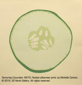 """""""Nurturing Cucumber"""" by Michelle Carlson"""