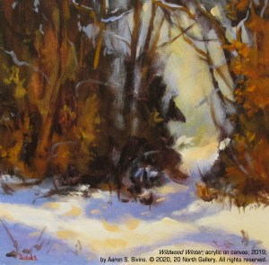 """Wildwood Winter"" by Aaron S. Bivins"