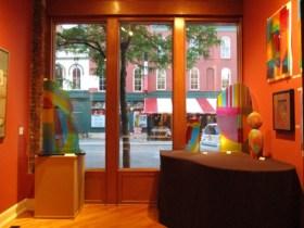 20 North Gallery, front window, Tom McGlauchlin, 2021