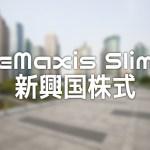超低コストの「eMaxis Slim 新興国株式インデックス」を見てみる
