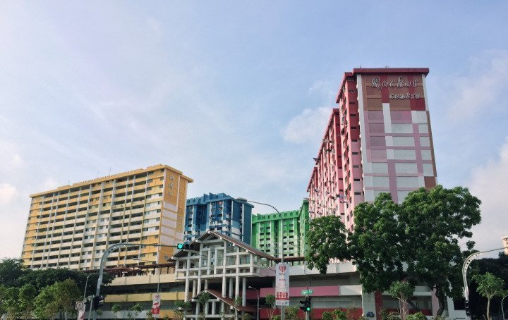 新加坡IG景點 :Rochor Centre