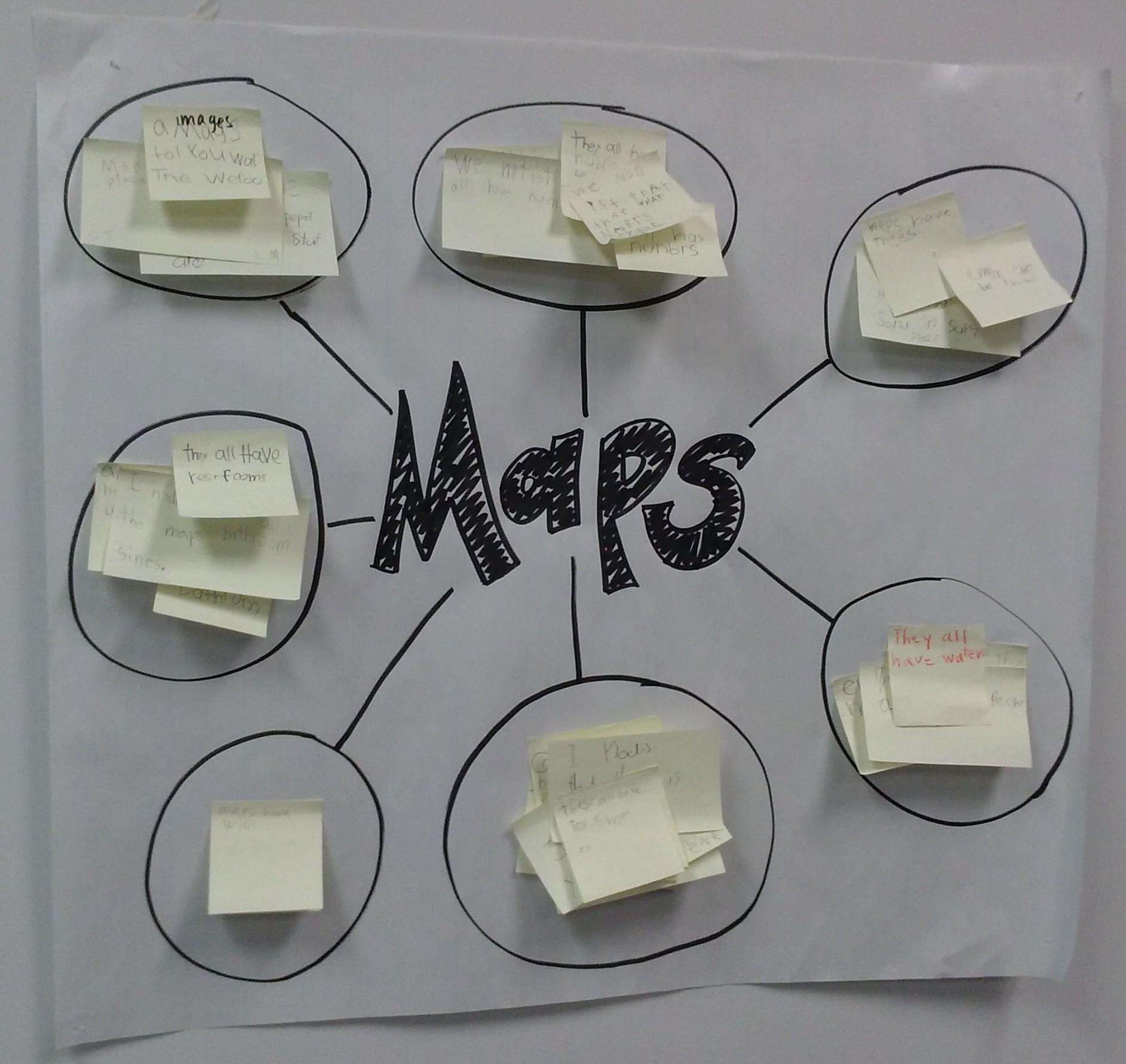 List Group Label Maps