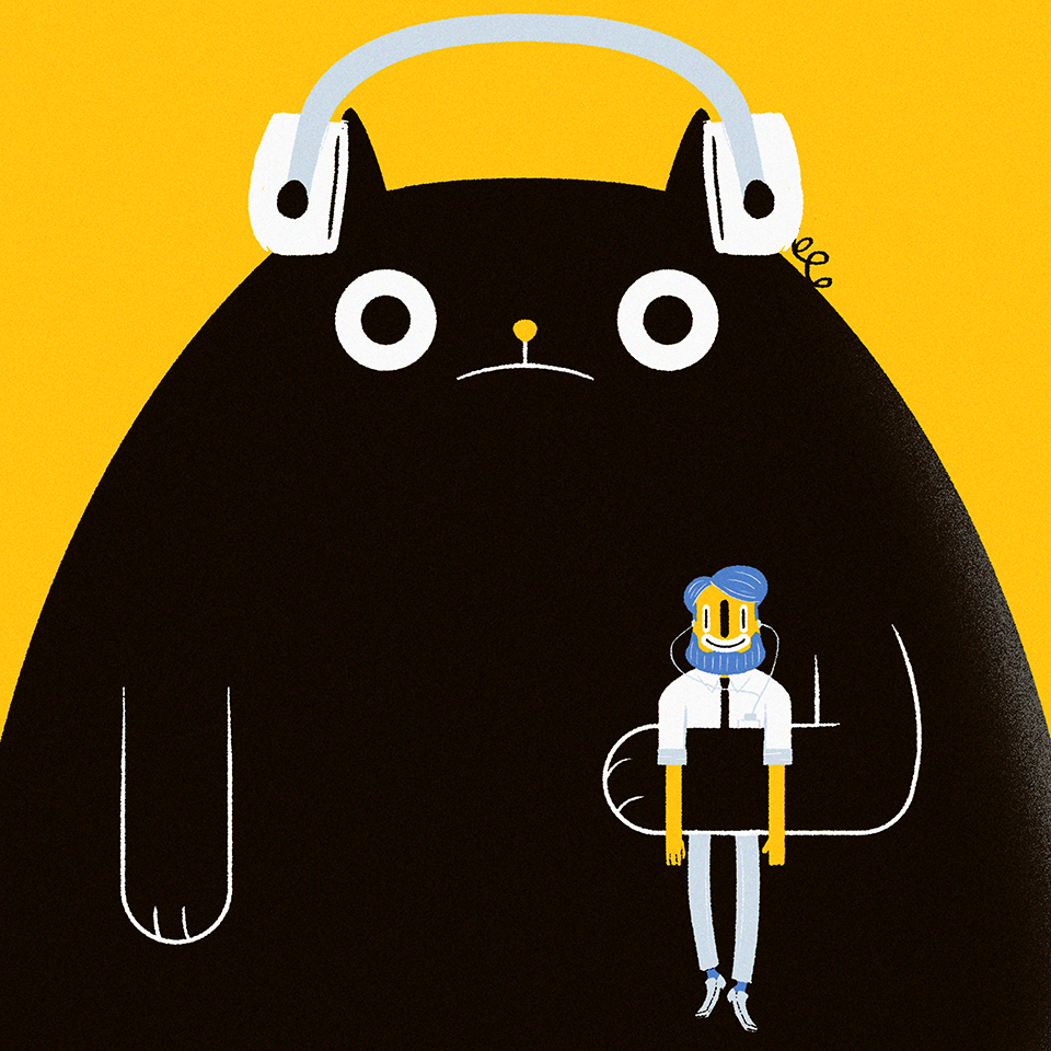 20_Songs_to_Listen_to_with_your_cat_design_by_Juan_Molinet_Guapo_big