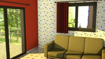 Early Midcentury Wallpaper