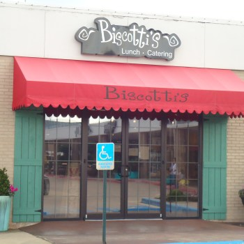 Biscotti's is located inside Lewis Gifts on Youree Drive