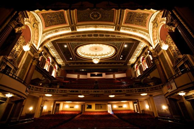 An image of Shreveport's historic Strand Theatre