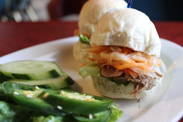 A photo of Bahn Mi Sliders at Lemongrass, Bossier City
