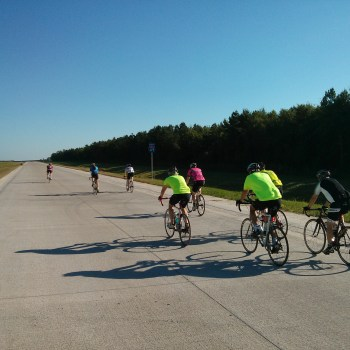 A photo of road biking in Shreveport-Bossier