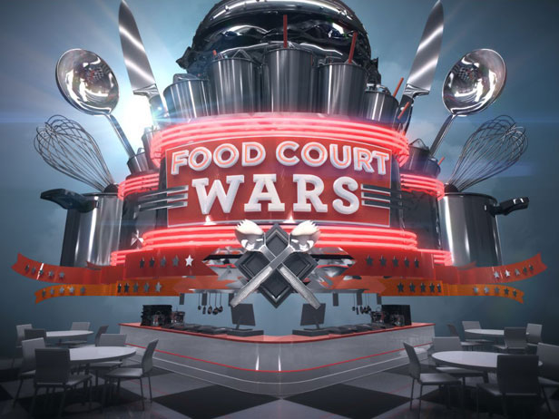 The logo of Food Court Wars